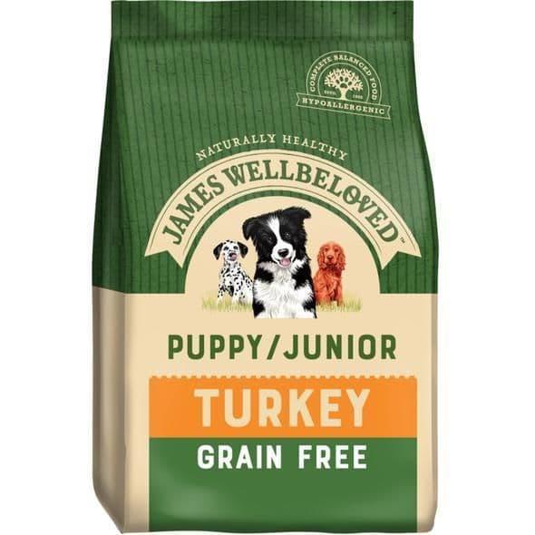 J/w puppy /junior turkey grain free